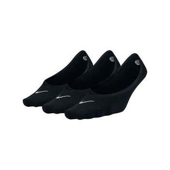 【NIKE】三包裝女子船襪-短襪 襪子 踝襪 黑白