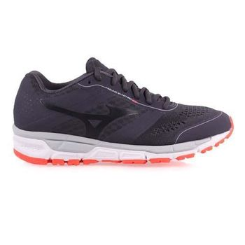 【MIZUNO】SYNCHRO MX 女慢跑鞋- 美津濃 訓練 健身 路跑 深灰黑
