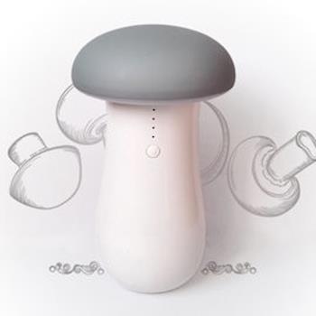 【Cherry】M1居家露營雙用菇菇LED燈(可充電式露營燈/手電筒/小夜燈/緊急照明燈)