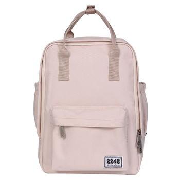 【8848】輕旅行  時尚背包-粉紅紗