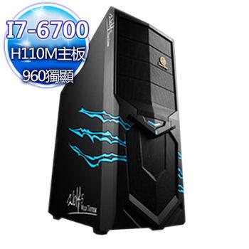 |華碩平台|機密邂逅 Intel i7-6700四核 GTX960獨顯 桌上型電腦