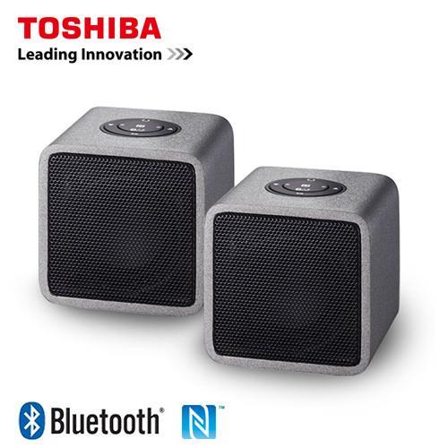 TOSHIBA 木質音箱兩件式藍牙喇叭 TY-WSP5TTW