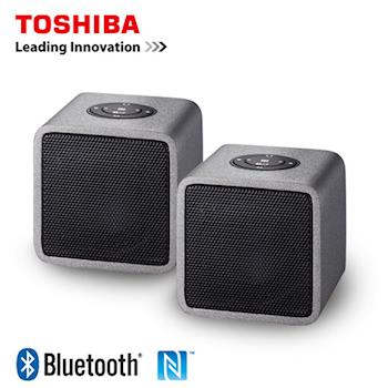 【TOSHIBA】木質音箱兩件式藍牙喇叭 TY-WSP5TTW