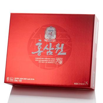 【韓國正官庄】高麗蔘源6入禮盒組附提袋(加贈LLANG紅蔘魔法菁萃油)