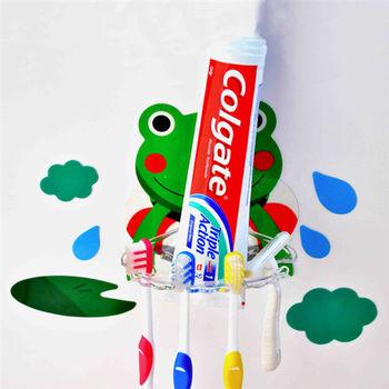 【莫菲思】居族-無痕造型牙刷架/肥皂架(隨機)