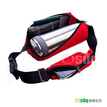 【Osun】魔術隱形腰包、霹靂腰背包 一大袋一小袋(10入款-九色可選CE-158A合)