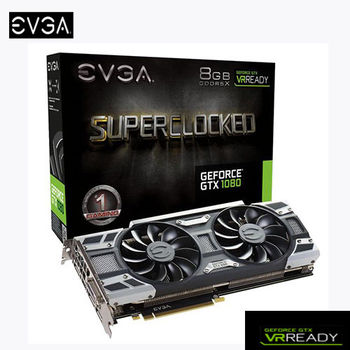 EVGA 艾維克 GTX1080 8GB SC BP GAMING ACX3.0 GDDR5X 顯示卡 (08G-P4-6183KR )