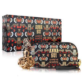 【Anna Sui 安娜蘇】波希女神風采禮盒-淡香水30ml+手拿包(附紙袋)