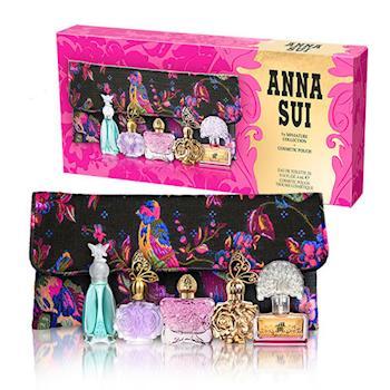 【Anna Sui 安娜蘇】歡樂派對迷你小香禮盒(4ml*5入)