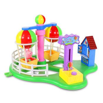 【粉紅豬小妹】歡樂樂園-熱氣球遊戲組 PE05881