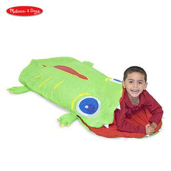 [美國Melissa  Doug]SP睡袋-小鱷魚奧吉