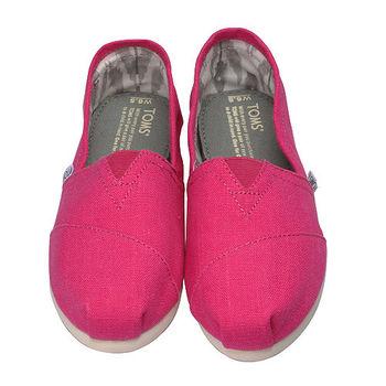 TOMS Canvas Classics 經典帆布/休閒鞋(桃紅-6.5)