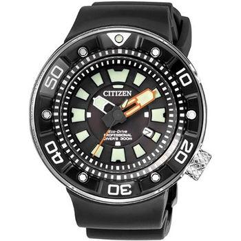 CITIZEN 星辰 PROMASTER 深海潛降300米潛水腕錶/48mm/BN0176-08E