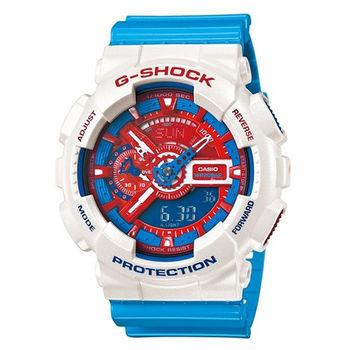 CASIO G-SHOCK 卡西歐 博派變形金剛潮流運動腕錶/GA-110AC-7A