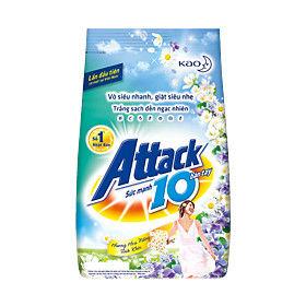 進口Attack 10倍效能洗衣粉-醇厚木香(360g)*12