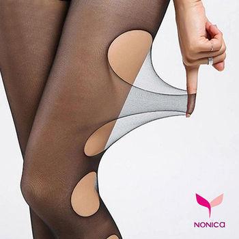 【Nonica諾妮卡】春夏時尚 50D任意剪造形超耐穿性感褲襪/絲襪(買5送1)