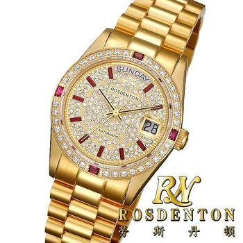 RN勞斯丹頓【97233MGA-A4 傳世】機械男錶