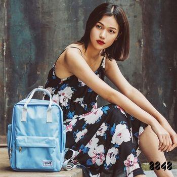 【8848】輕旅行  時尚背包-海水藍