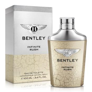 Bentley INFINITE RUSH 賓利無限奔放男士淡香水(100ml)-送品牌沐浴精