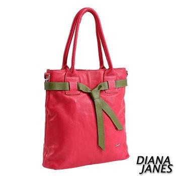 Diana Janes 牛皮大容量通勤托特包