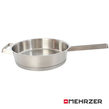 Mehrzer歐梅樂 不鏽鋼平煎鍋24cm