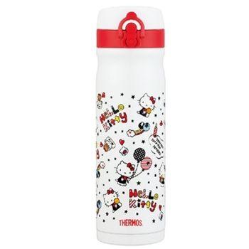 膳魔師【JMY-501KT-WH】500ml彈蓋式不鏽鋼真空 保溫杯 保溫瓶