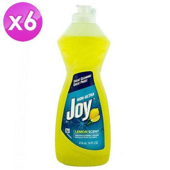 【美國 JOY】檸檬洗碗精 (14oz) 6入組