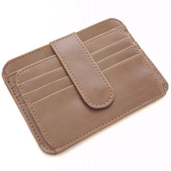 【Miyo】A.Antonio瘋馬皮貼身卡夾