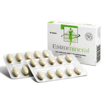 【大統貿易】維骨力婦寶食品錠ESTROMINERAL 大豆異黃酮+鈣+D3 / 30錠(即期良品2017/06)