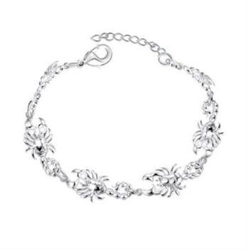 【米蘭精品】925純銀手鍊手飾帥氣個性蠍子造型