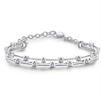 【米蘭精品】925純銀手鍊手飾時尚流行
