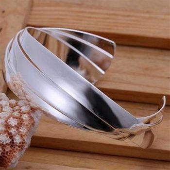 【米蘭精品】925純銀手環手飾韓版創意獨特造型