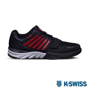 K-Swiss X Court 全方位運動鞋-男-黑/紅