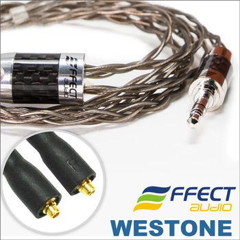 Effect Audio THOR COPPER單結晶無氧銅鍍銀- 威士頓Westone耳機升級線