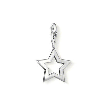德國Thomas Sabo Charm Club 星星銀墜吊飾0857-001-12