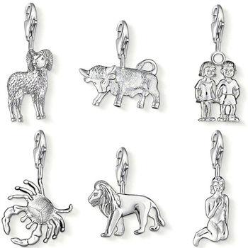 德國Thomas Sabo Charm Club 星座銀墜吊飾(牡羊/金牛/雙子/巨蟹/獅子/處女)