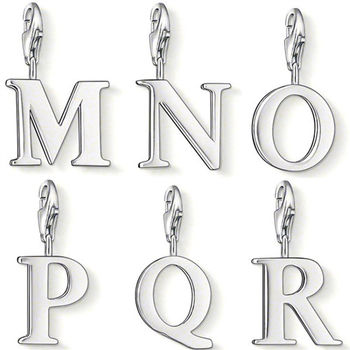 德國Thomas Sabo Charm Club 字母銀墜吊飾MNOPQR