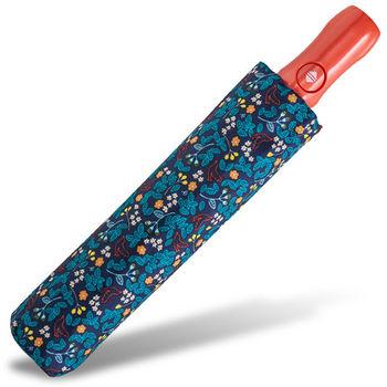rainstory雨傘-日式花卉(深藍)抗UV雙人自動傘