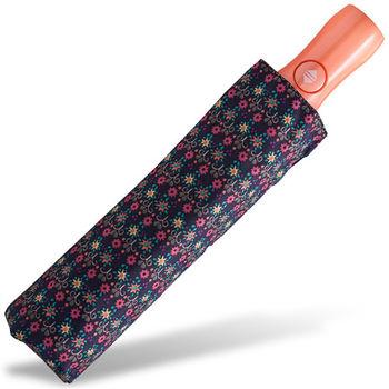 rainstory雨傘-田園小花(藍紫)抗UV個人自動傘