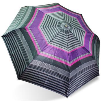 rainstory雨傘-雅致橫條抗UV個人自動傘