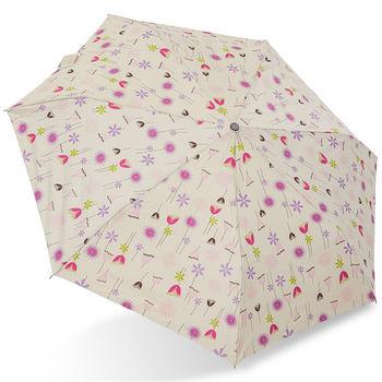 rainstory雨傘-綻放花漾抗UV個人自動遮陽傘