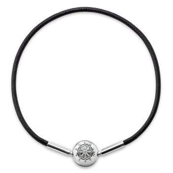 德國Thomas Sabo Karma Beads 棉繩串飾手鍊(寬度:0.3 cm)KA0003-653-11