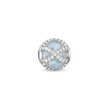 德國Thomas Sabo Karma Beads海藍寶石馬哈拉尼串飾寶珠(尺寸:cm)K0145-694-31