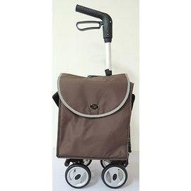 【海夫健康生活館】優雅側袋購物助行車
