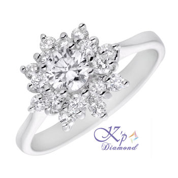 KP Diamond永恆璀璨30分美鑽戒(F/SI1)