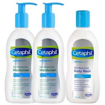 Cetaphil舒特膚 AD益膚康修護滋養組