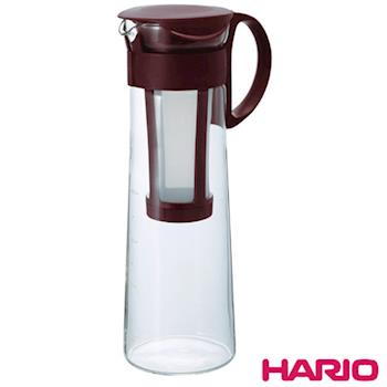日本製造HARIO 冷泡冰滴咖啡壺/泡茶壺1000ML(含濾網) HAR-MCPN14 顏色隨機