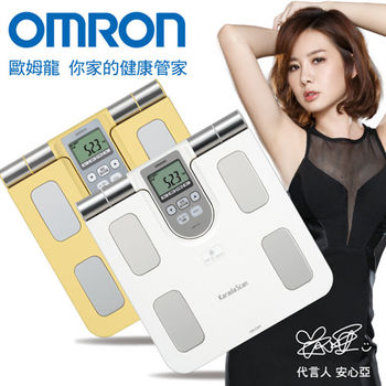 《買就送》【OMRON歐姆龍】體重體脂計HBF-370(二色可選)
