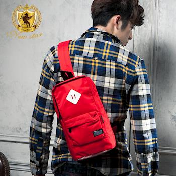 NEW STAR 輕量防潑水亮彩豬鼻單肩背包後背包 BK88