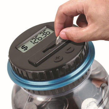 智能理財儲蓄罐 電子計算存錢筒
